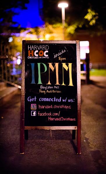Harvard IPMM (September 2016)