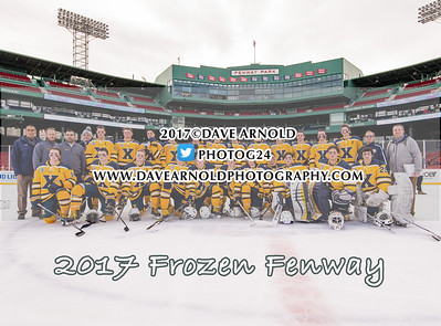 1/11/2017 - Boys Varsity Hockey - Frozen Fenway - Xaverian vs Malden Catholic