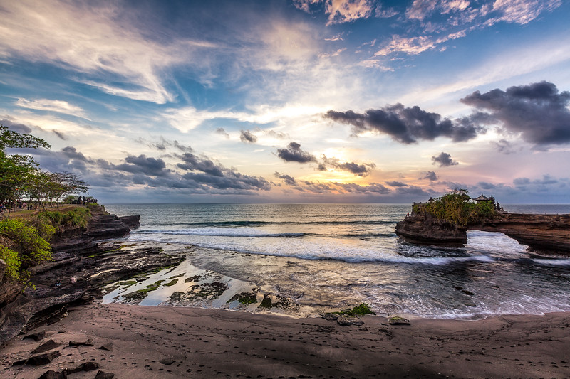 Batu Bolong - Bali Batu Bolong Temple is just West of Tanah Lot in Bali Indonesia. I preferred shooting here since there was way less people along the beach and on the cliffs. See more about my photography at http://alikgriffin.com