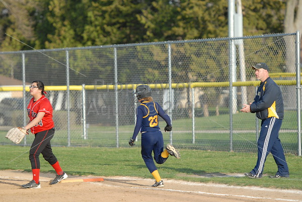softball v. south beloit . 4.22.14