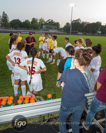 9-18-13 Minneapolis Henry v Minneapolis Roosevelt Girls Soccer