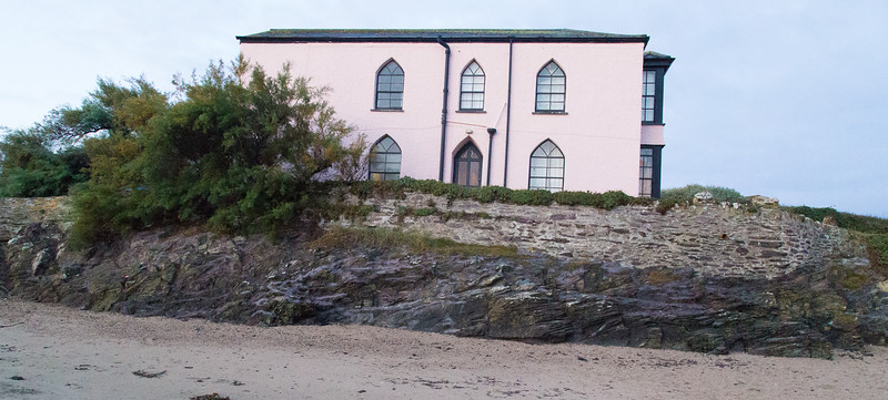 Polzeath House on Polzeath Beach