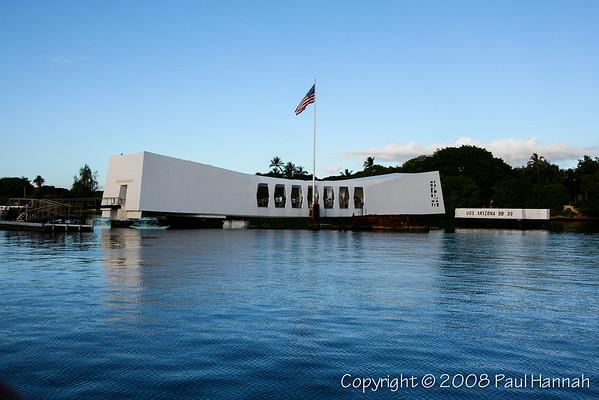 USS Arizona Memorial - Pearl Harbor - Honolulu, HI