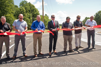 North Ridgeville Roundabout Opening 2021
