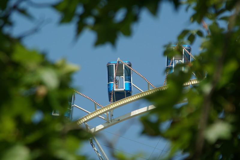 Ferris wheel in Zurich.