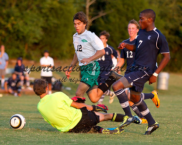 Charlotte Latin vs Ashbrook 8-25-11