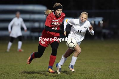 Girls Soccer — AuSable Valley vs. Moriah