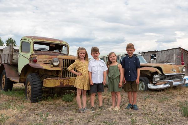 Olson Family - Sheridan, Montana