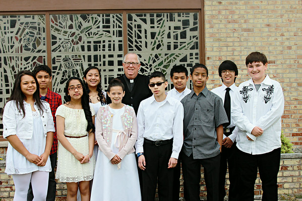 Our Lady Queen of Event- First Communion- June 22, 2014