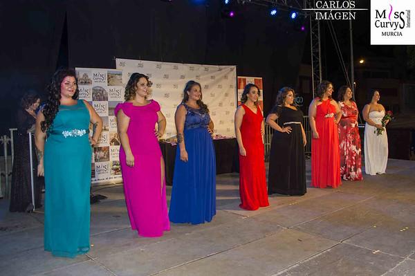 Gala de elección de Miss Curvys Murcia 2019