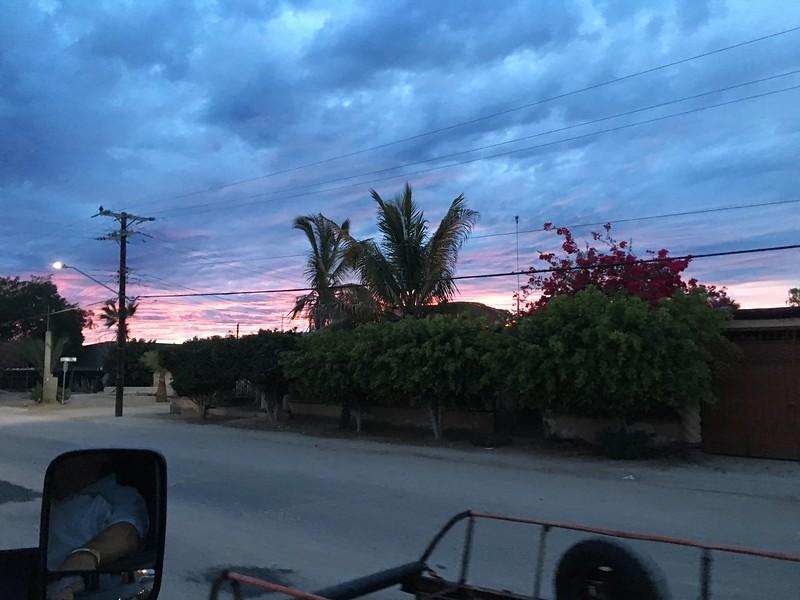 Sonora Rally 2018 - Day 4 - Sunset on Bahia Kino