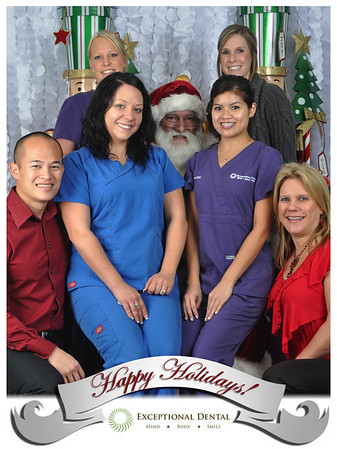 Exceptional Dental Santa Pictures