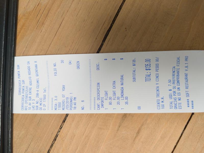 cozumel ceveceria punta sur receipt.jpg