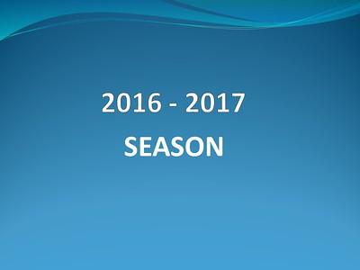 2016 - 2017 Season
