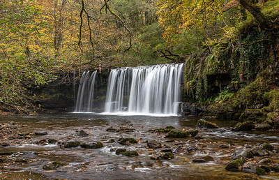 Welsh Waterfalls 24th October - Variations