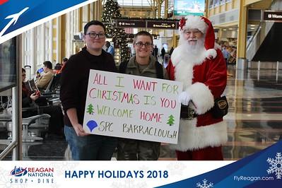 Reagan Shopping & Dining: Happy Holidays 2018 - Day 2