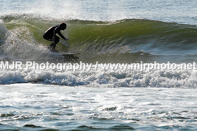 Surfing, Gilgo Beach, NY, Morning Session (9-17-06)