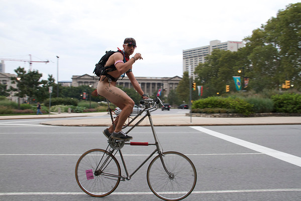 Philly Naked Bike Ride 2010-2013
