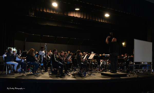 2.1.2019 Limestone Honor Band Clinic