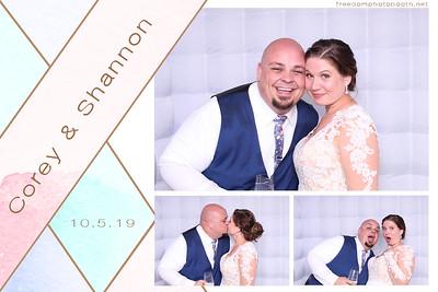 Corey & Shannon's Wedding 10.05.19