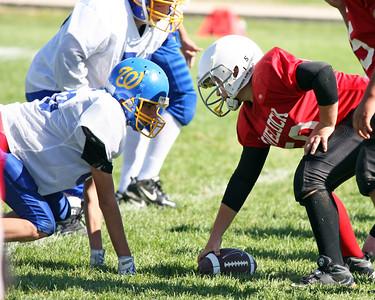 2010-10-09 Youth F-ball Seniors vs White