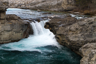 Elbow Falls and Mountains Nov 11