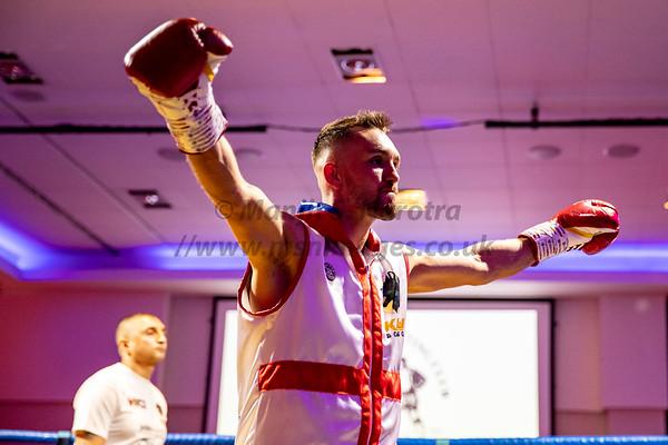 Kyle Williams vs Kash Farooq - British Bantamweight Title - 25th April 2019