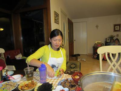 New Year's Dinner 2012