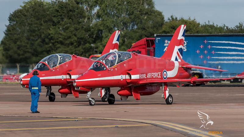 Red Arrows / BAe Systems Hawk T.1 / XX177 & XX244
