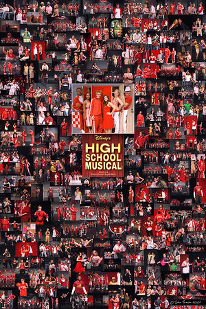High School Musical Photo Collage