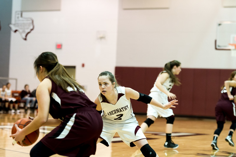 Abernathy Lady Lopes vs Ralls, 2-9-2016