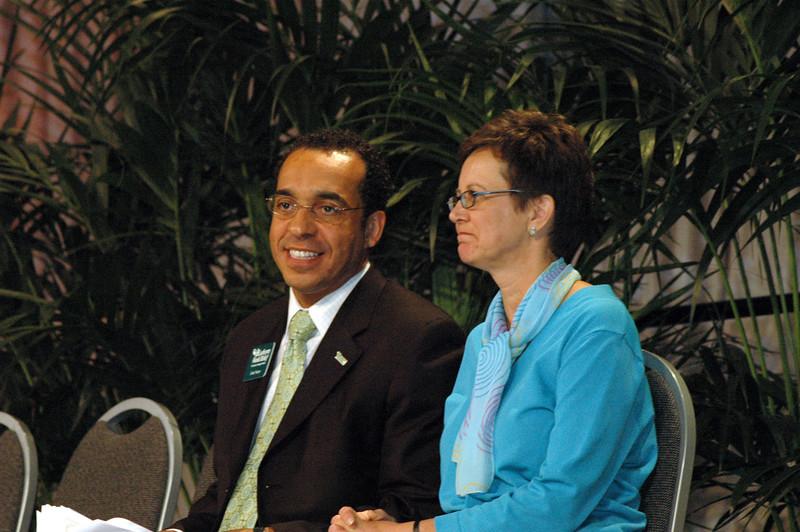 World Hunger Appeal & Lutheran World Relief report - Nancy Arnison, director for ELCA WOrld Hunger Program and the Rev. John Nunes, president, Lutheran World Relief.