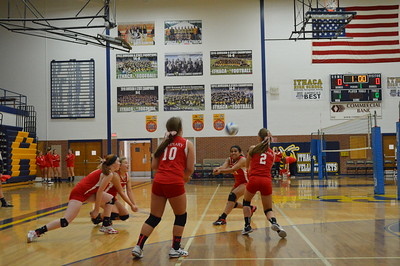 JV/Freshmen Volleyball at Ithaca