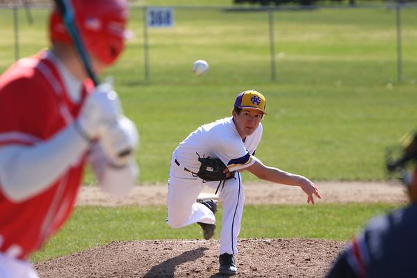 Baseball vs Constantine - KCHS - 4/20/18