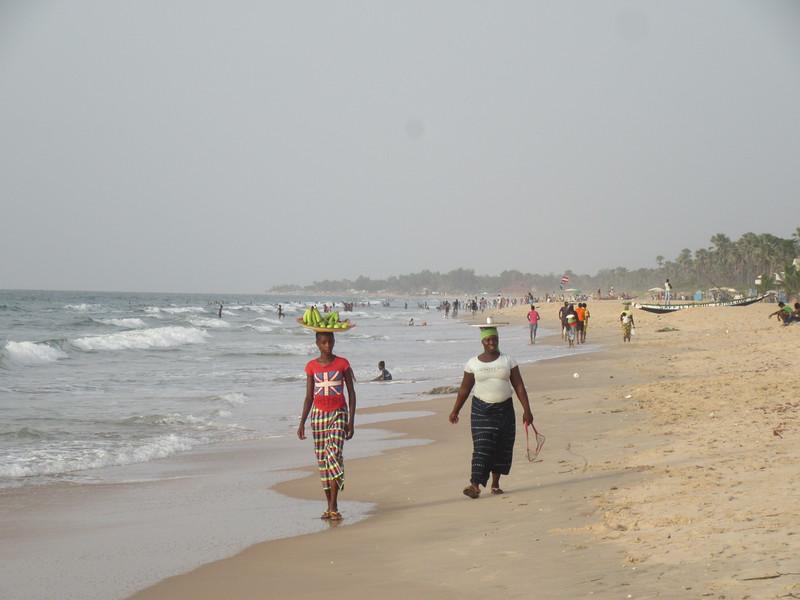 006_Serekunda. Beach and Atlantic Coast Resorts. The Smiling Coast. Tourism is 16% of GDP.JPG