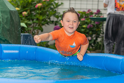 Jacob in the Pool 7-3-20