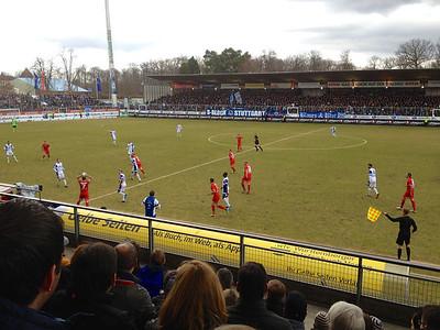 Stuttgarter Kickers - FC Heidenheim 01.03.2014