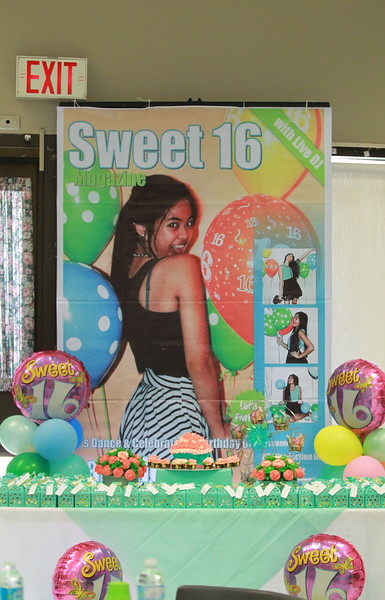 Sweet 16 Camille