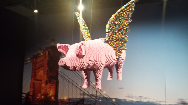 The Art of the Brick - Cincinnati Museum Center - 21 Mar. '16
