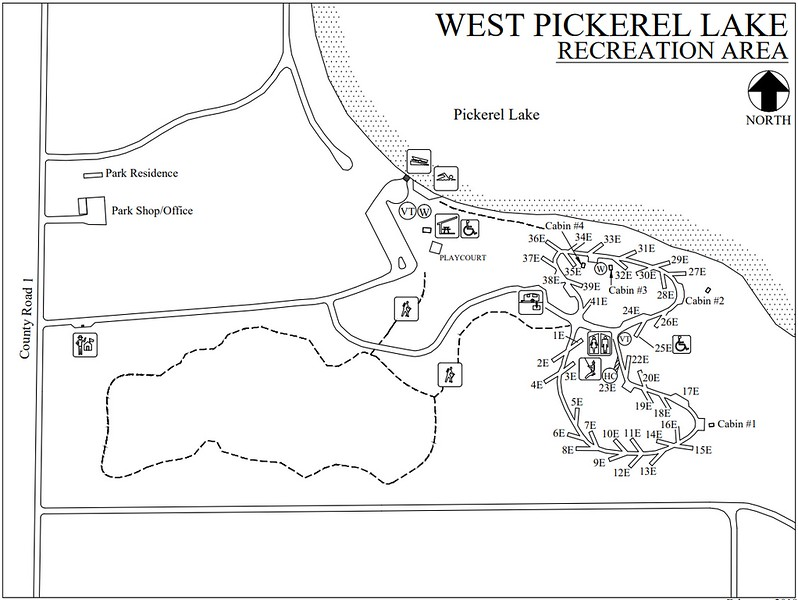 Pickerel Lake Recreation Area (West Section)