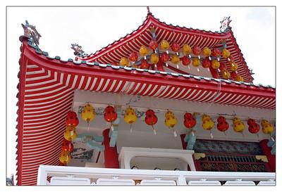 Buddhist Temple, Penang, Malaysia - part 1