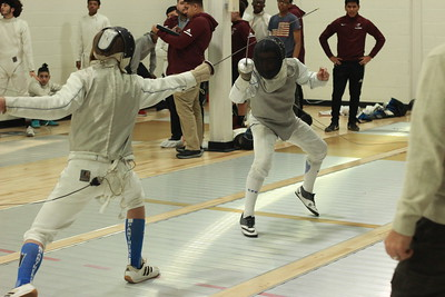 Fencing 2019 v Princeton Day School