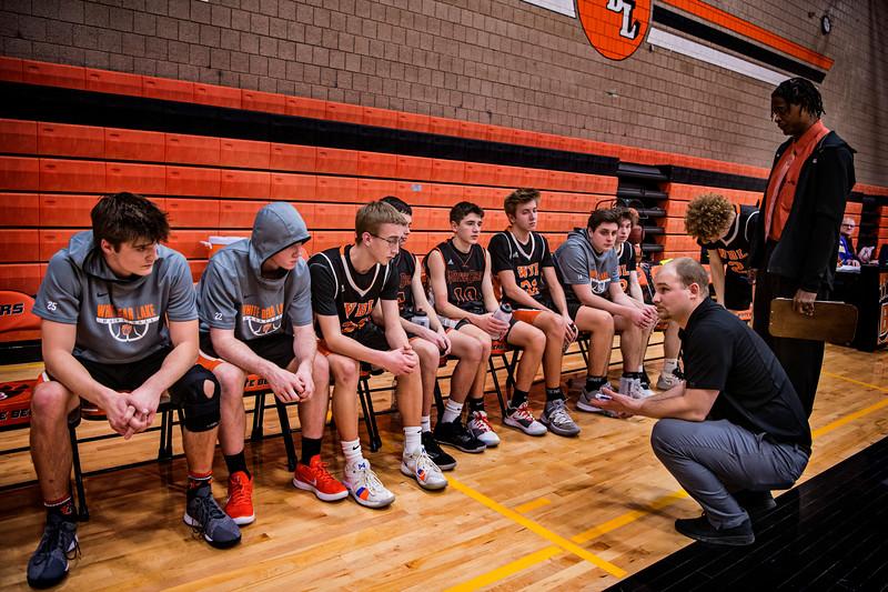 WBL Boys JV Basketball -V- Mounds View 2020