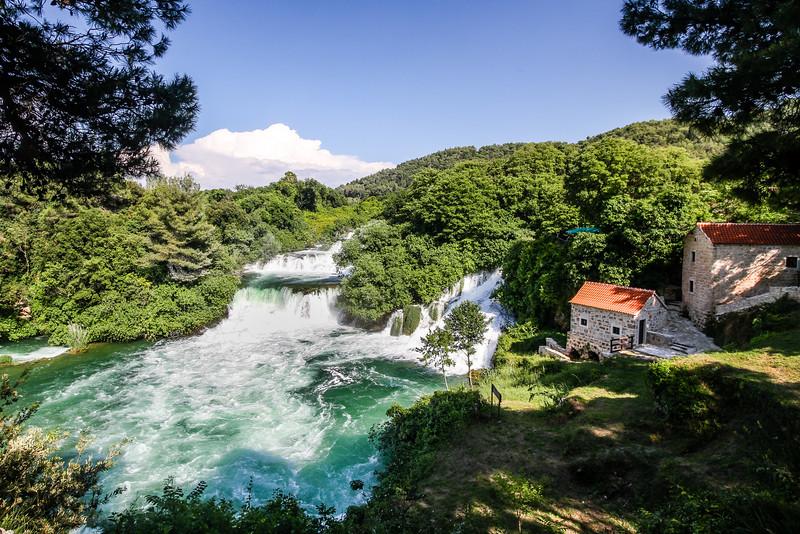 The Waterfalls of Krka National Park, Croatia