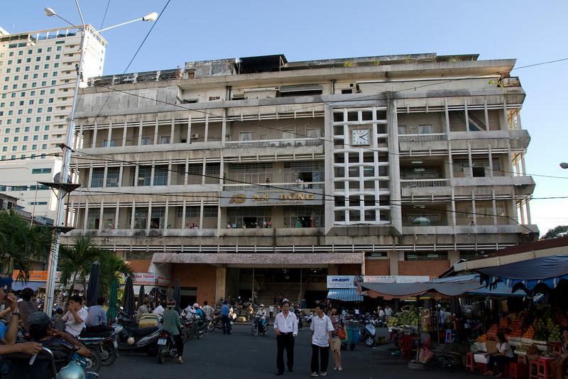Hong Kong Market in Saigon, Vietnam
