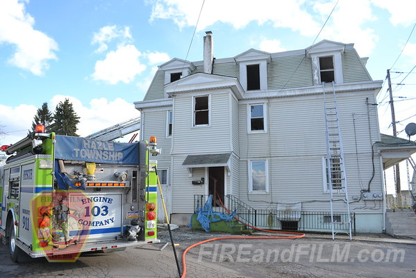 Luzerne County - West Hazleton - Dwelling Fire - 04/01/2013