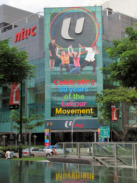 10-National Trade Union Council, corner Queen St, Bras Basah Road