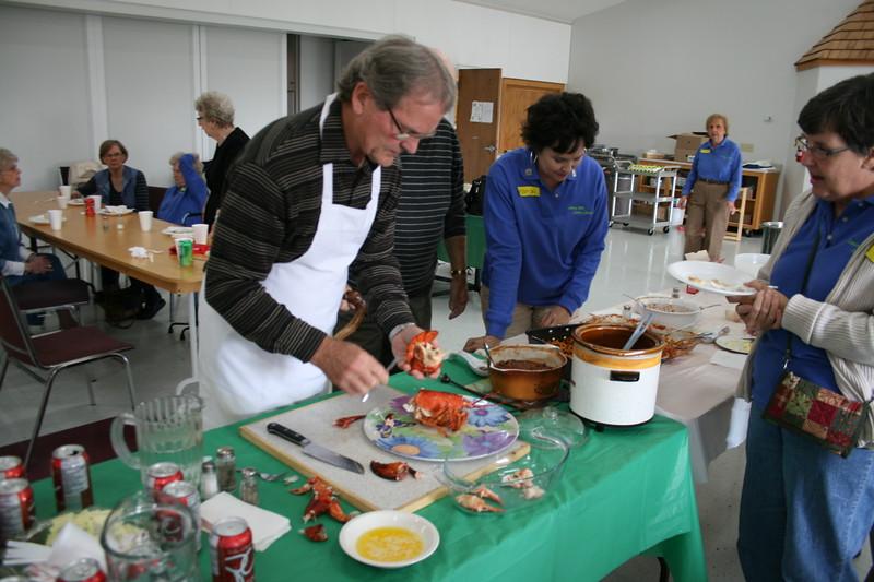 Lobster Preparation & Eating