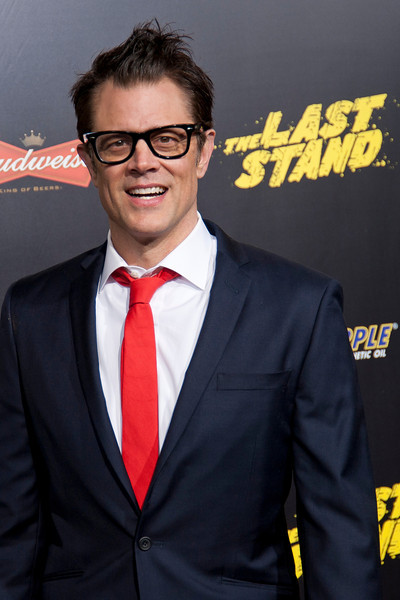 HOLLYWOOD, CA - JANUARY 14: Actor Johnny Knoxville arrives at the premiere of Lionsgate Films' 'The Last Stand' at Grauman's Chinese Theatre on Monday, January 14, 2013 in Hollywood, California. (Photo by Tom Sorensen/Moovieboy Pictures)