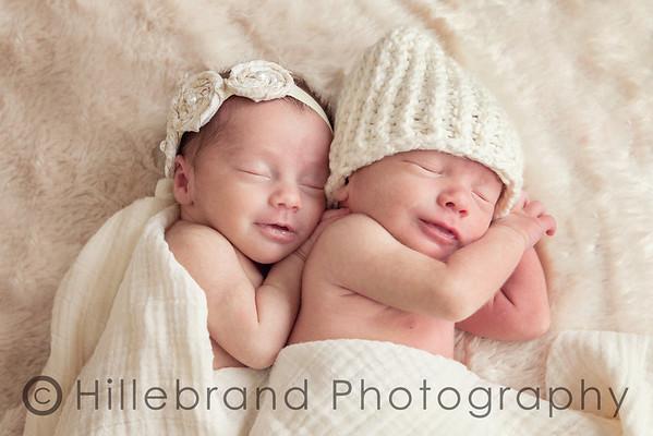 Jack & Evelyn: Newborn Session